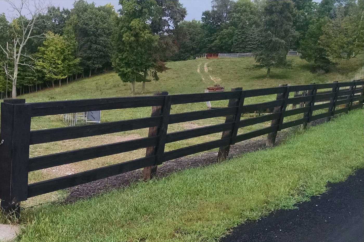 3 4 Board Farm Fence Pasture Horse Cattle Livestock show arenas containment strauss fence