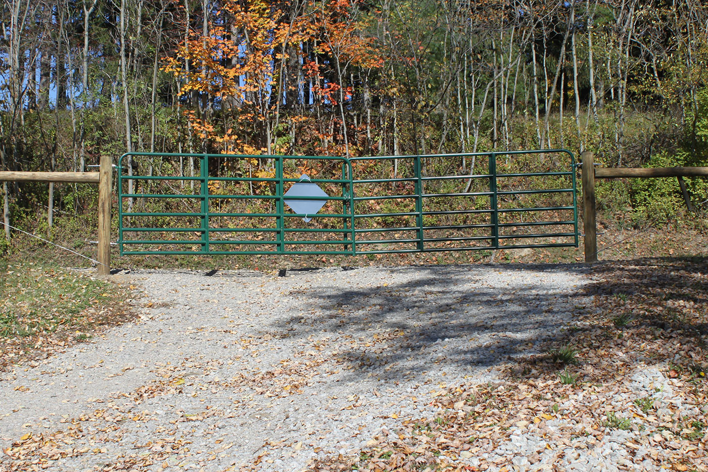 Steel Tube Green Agricultural Gates