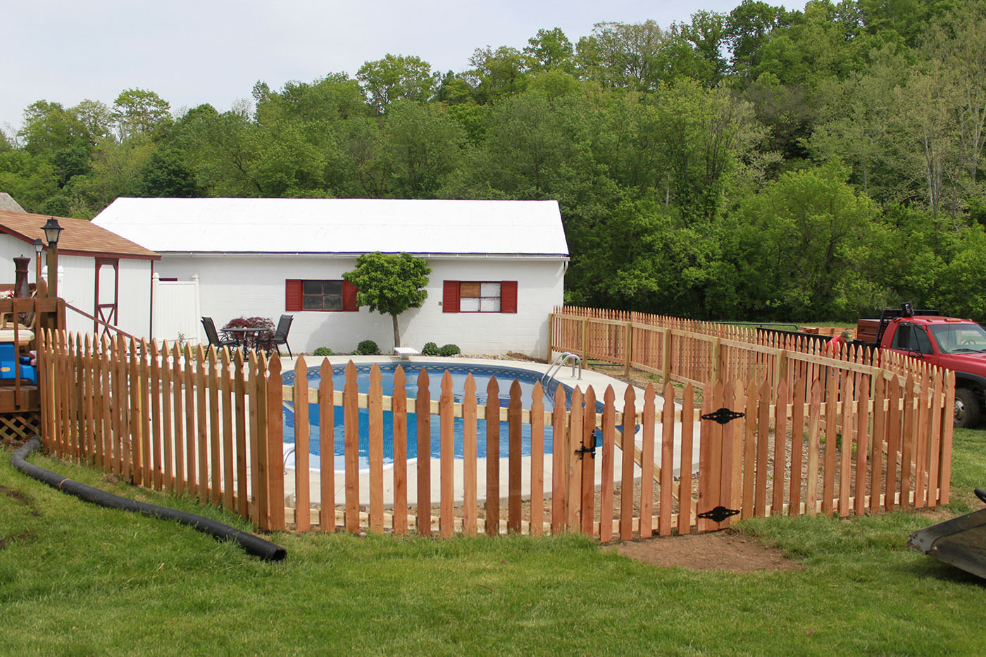 Strauss Fence Company - New Concord, Ohio - Swimming Pool Fence