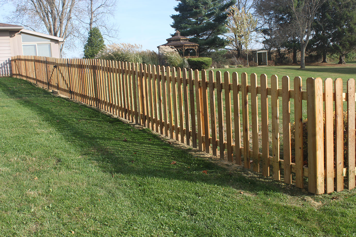 Strauss fence company new concord ohio residential
