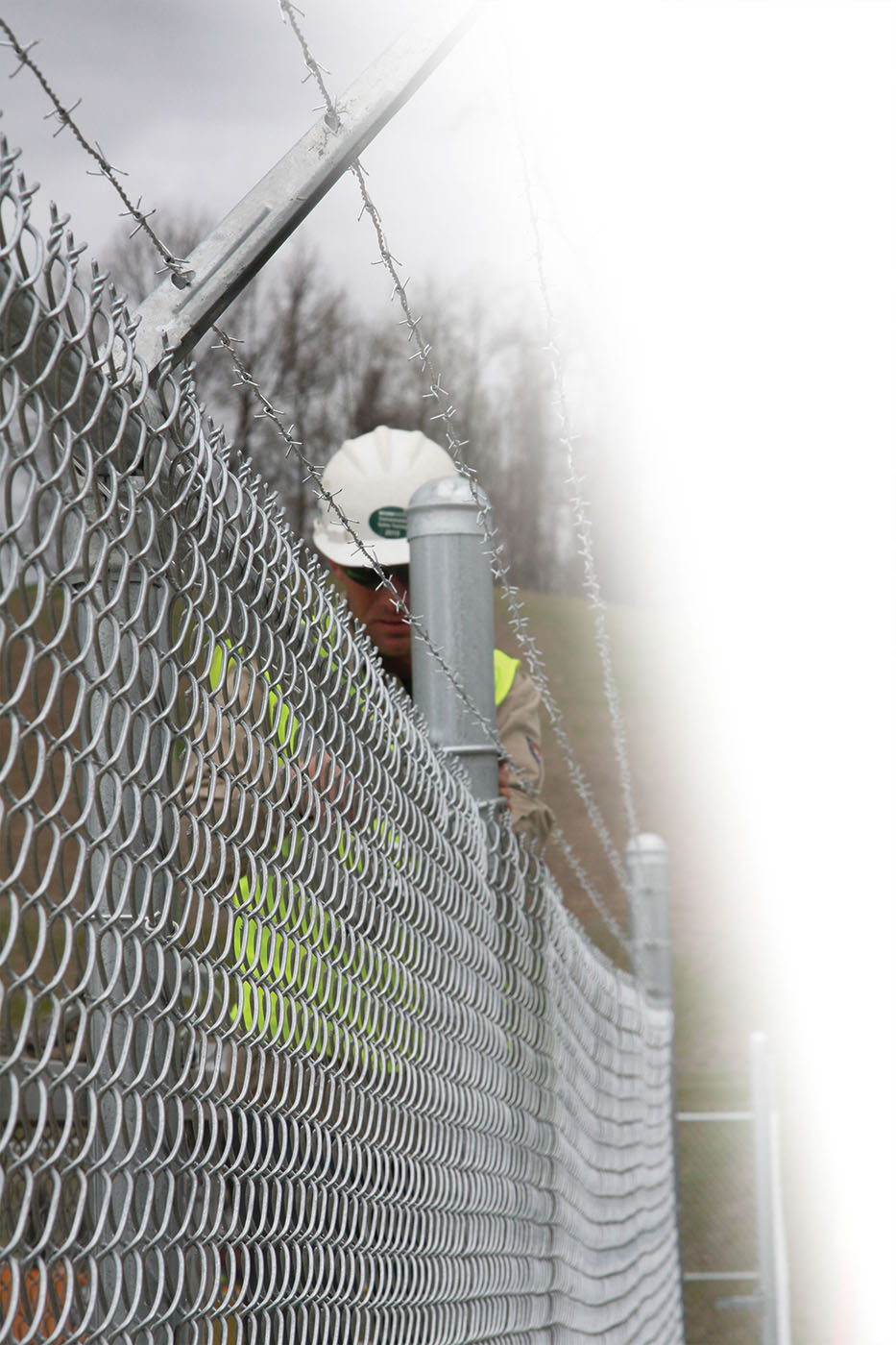 Commercial Industrial Chain Link Chain link Fence Installer