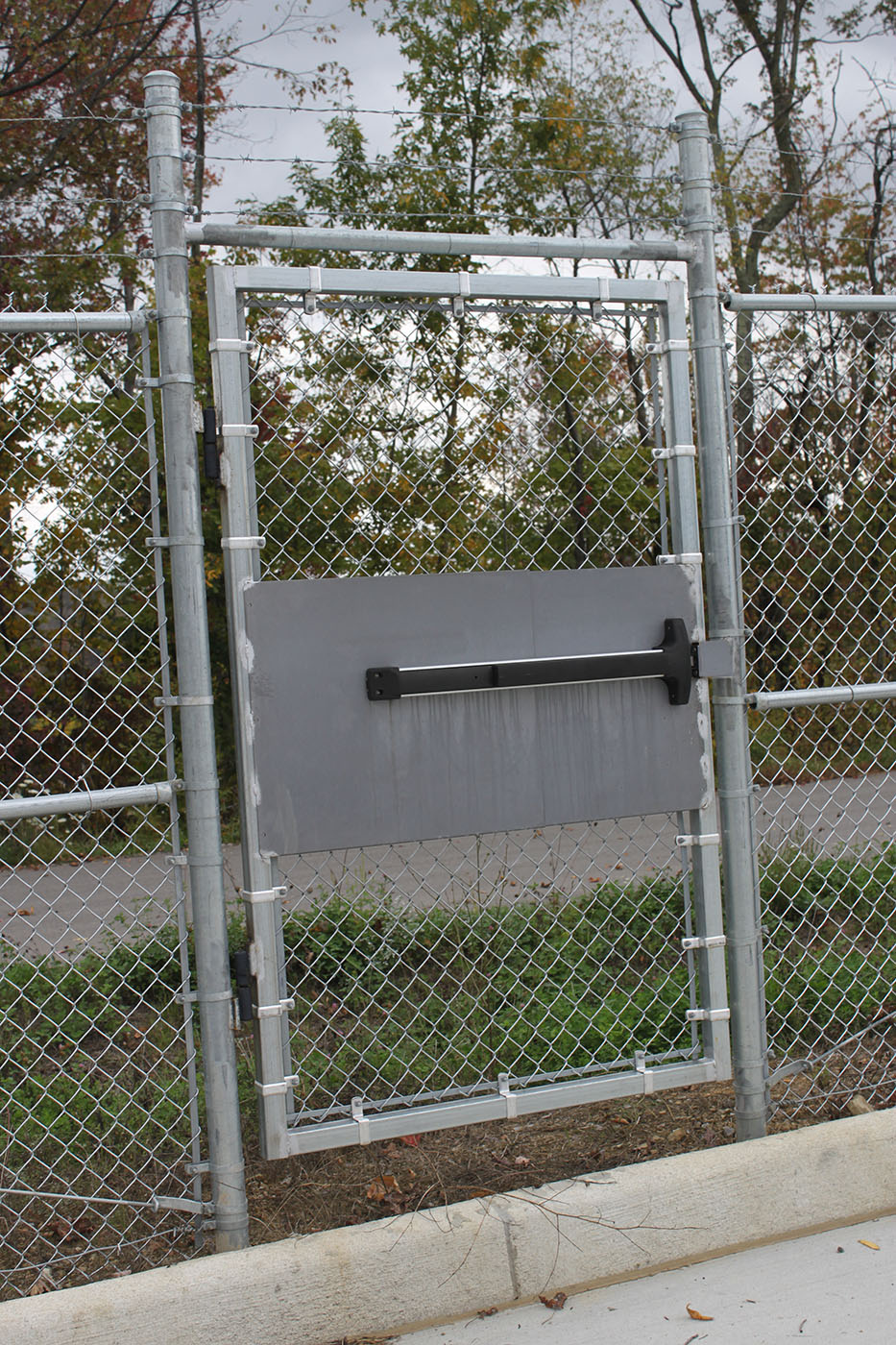 Strauss Fence Company New Concord Ohio Emergency Exit