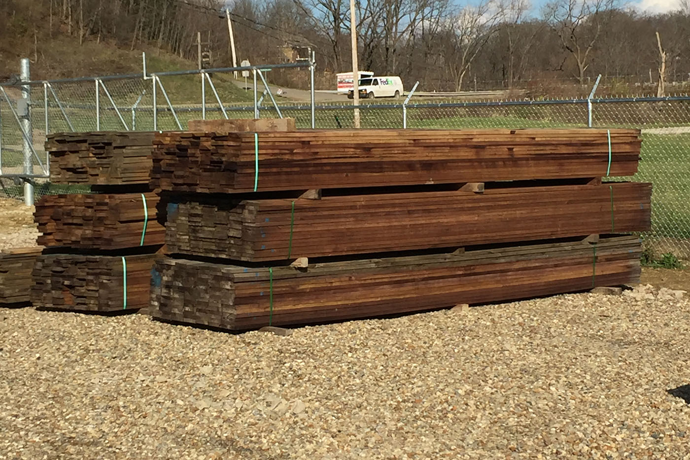 Poplar Fence Boards