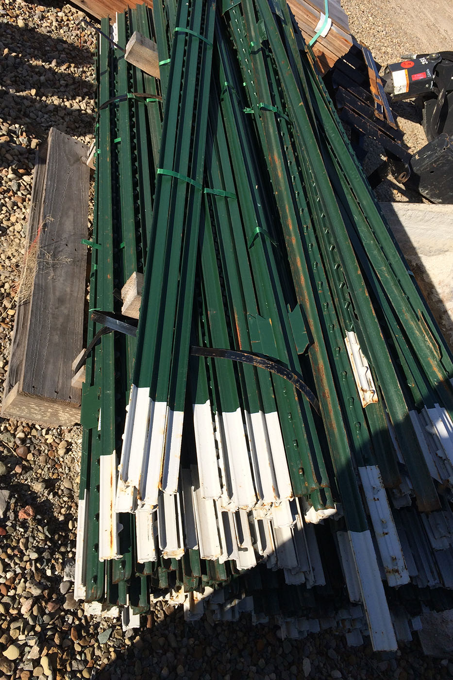 Strauss Fence Company New Concord Ohio Steel T Posts