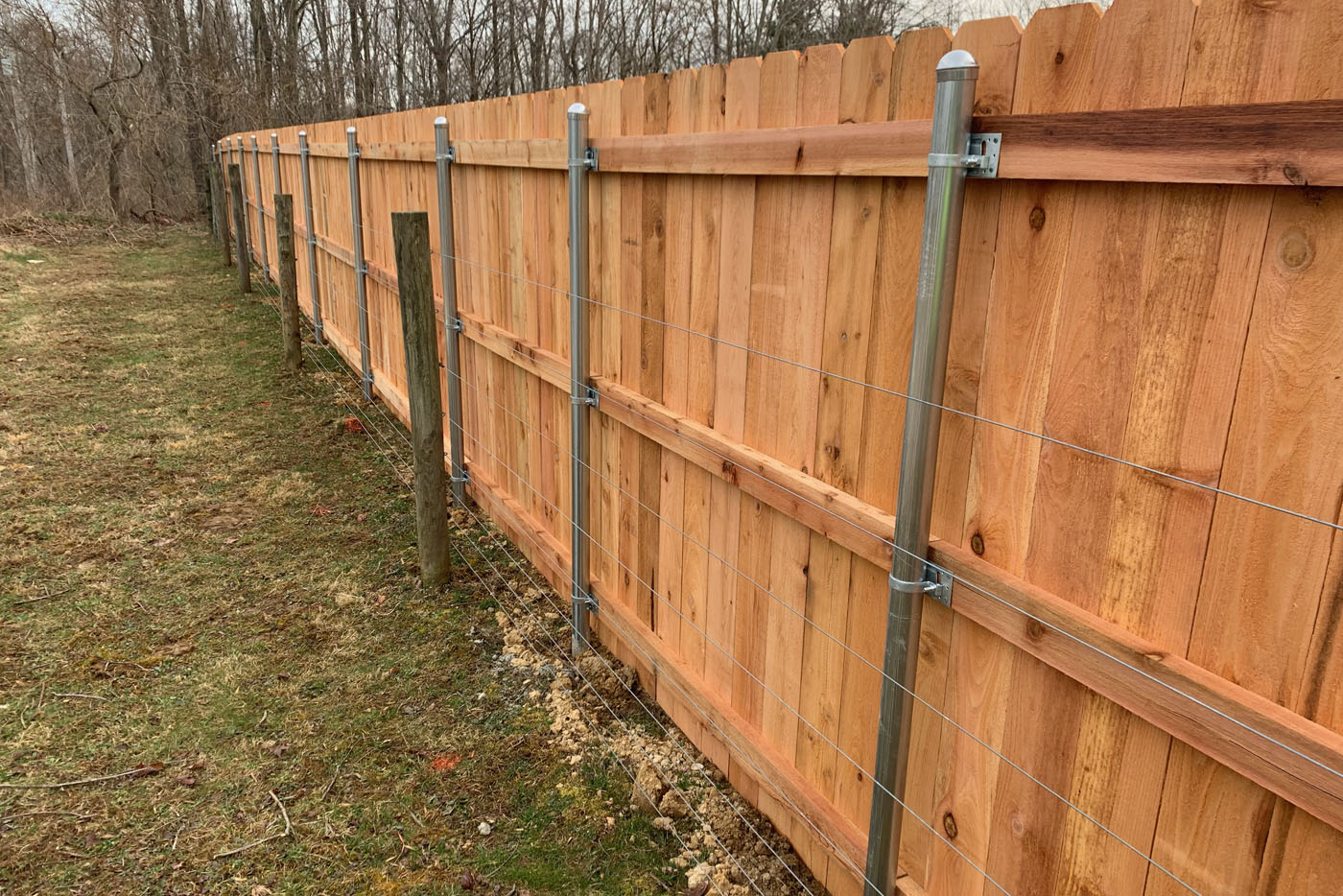 Strauss Fence Company New Concord Ohio Installation