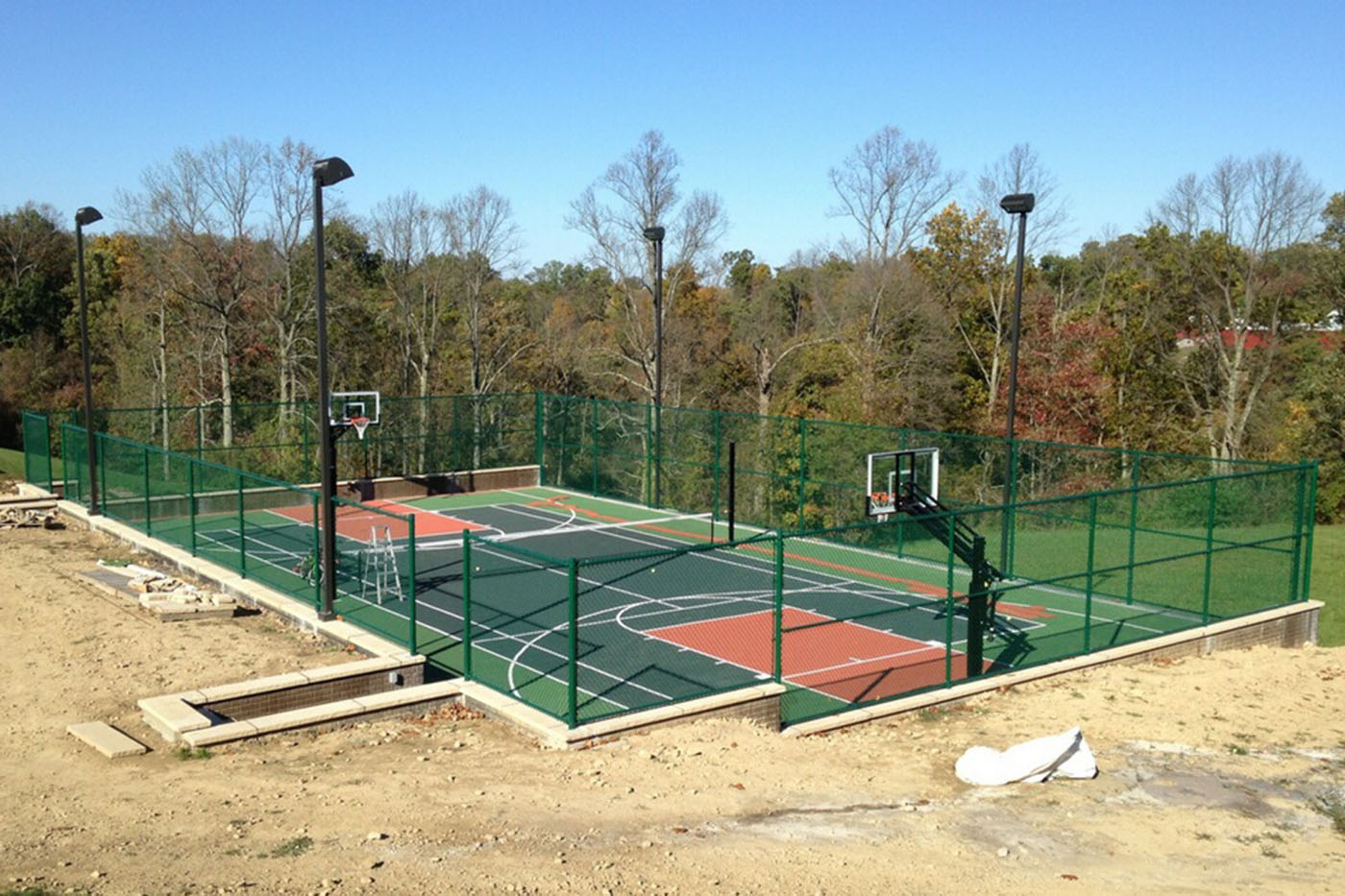 Strauss Fence Company New Concord Ohio Athletic